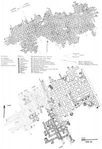Карта сокских штолен
